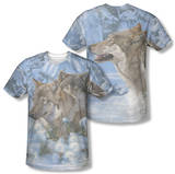 Wild Wings - Winter's Warmth (Front/Back Print) T-shirts