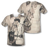 Elvis Presley - Guitarman (Front/Back Print) Shirt