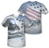 Air Force - Pilot (Front/Back Print) Shirt
