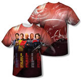 Star Trek - Captains (Front/Back Print) Shirts