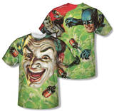 Batman Classic TV - Laugh Gas (Front/Back Print) T-shirts