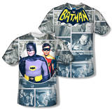 Batman Classic TV - 60s Panels (Front/Back Print) T-shirts