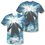 The Thing - Poster (Front/Back Print) T-Shirt