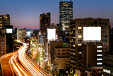 Tokyo Cityscape and Highway Photographic Print by vladimir zakharov