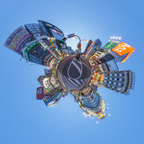 Urban Landscape of Tokyo. Photographic Print by Petri Artturi Asikainen