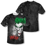 Batman - Joker Sprays The City (Front/Back Print) Shirt