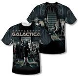 Battlestar Galactica - Fallen Leader (Front/Back Print) T-Shirt