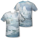 Wild Wings - Glacier's Edge (Front/Back Print) T-shirts