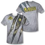 Jurassic Park - Live Raptor (Front/Back Print) T-Shirt