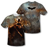 Batman Begins - Carried Away (Front/Back Print) T-Shirt