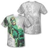 Green Lantern - Light Em Up (Front/Back Print) T-Shirt