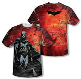 Batman Begins - Frenzy (Front/Back Print) T-Shirt