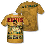 Elvis Presley - GI Blues (Front/Back Print) Shirts