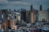 Eastern Tokyo Skyline Photographic Print by Chris Jongkind