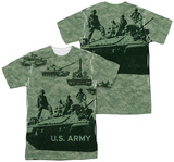 Army - Tank Up (Front/Back Print) T-shirts