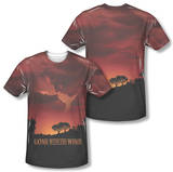 Gone With The Wind - Sunset (Front/Back Print) T-Shirt