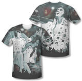 Elvis Presley - Now Playing (Front/Back Print) T-Shirt