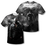 Dark Knight Rises - Bane In Rain (Front/Back Print) T-Shirt