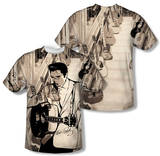 Elvis Presley - Guitarman (Front/Back Print) Shirts
