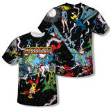 Justice League - Crisis Variant (Front/Back Print) Shirts