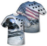 Air Force - Pilot (Front/Back Print) Sublimated