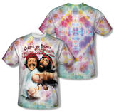 Cheech & Chong - Fried Tie Dyed (Front/Back Print) Sublimated