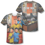 Star Trek - Bridge (Front/Back Print) T-Shirt