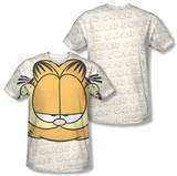 Garfield - Big Face (Front/Back Print) T-Shirt