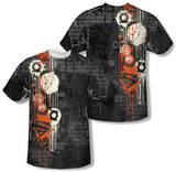 Justice League - Oh The Urbanity (Front/Back Print) Shirts