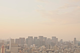 Tokyo Cityscape at Sunset - Tokyo Station Area. Photographic Print by Keiko Iwabuchi