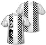 Elvis Presley - Checkered Bowling Shirt (Front/Back Print) T-shirts