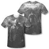 Dark Knight Rises - Bane In Rain (Front/Back Print) Shirts