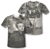 James Dean - Have A Seat (Front/Back Print) T-Shirt