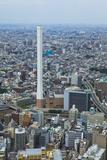 Aerial View of Ikebukuro, Tokyo Photographic Print by  DigiPub