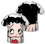 Betty Boop - Big Boop Head (Front/Back Print) Shirt