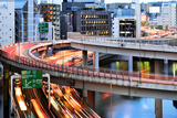 Curves of Highway in Tokyo Photographic Print by vladimir zakharov