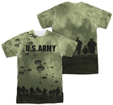 Army - Air To Land (Front/Back Print) T-Shirt