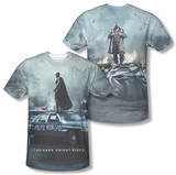 Dark Knight Rises - Standoff (Front/Back Print) T-Shirt