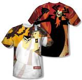 Samurai Jack - Eternal Foes (Front/Back Print) T-Shirt