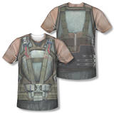 Dark Knight Rises - Bane Costume (Front/Back Print) T-shirts