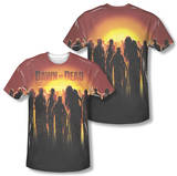 Dawn Of The Dead - Swarm (Front/Back Print) T-shirts