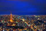Tokyo Night View Photographic Print by  uemii