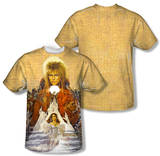 Labyrinth - Cover Art (Front/Back Print) T-Shirt