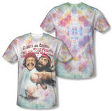 Cheech & Chong - Fried Tie Dyed (Front/Back Print) T-Shirt
