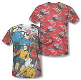 Star Trek - Long Panel (Front/Back Print) T-shirts