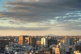 Eastern Tokyo Skyline and Mt. Tsukuba Photographic Print by Chris Jongkind