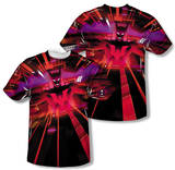 Batman Beyond - Batmobile Interior (Front/Back Print) T-Shirt