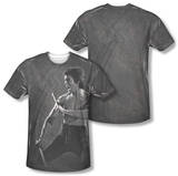 Bruce Lee - Dragon Print (Front/Back Print) Shirts