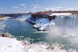 Icy Niagara Falls Photographic Print by Brigitte Smith
