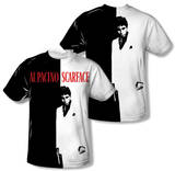 Scarface - Big Poster (Front/Back Print) Shirt